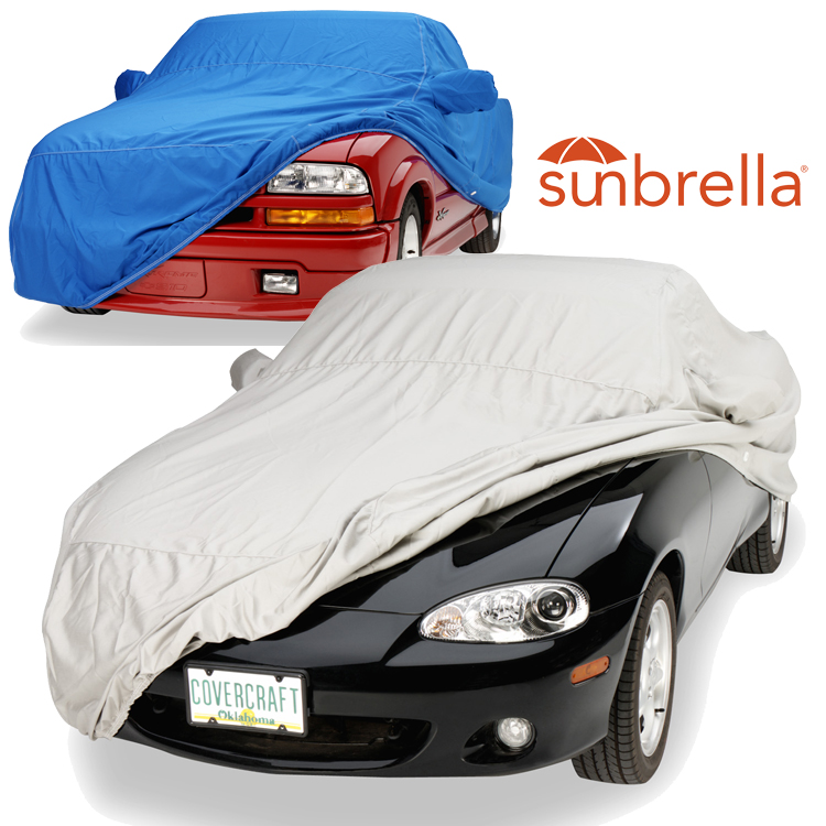 Covercraft Custom Fit Sunbrella Series Car Cover Toast C8456D6